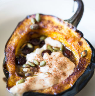 Protein-Packed Acorn Squash Boats