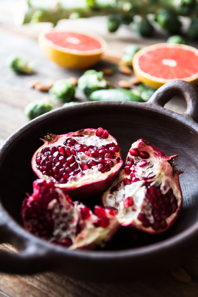 Pomegranate seeds are full of antioxidants and vitamin C, making them a superfood worth adding to your diet.